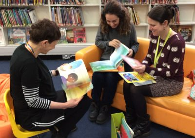 Bilingual Storytime at Huddersfield Library