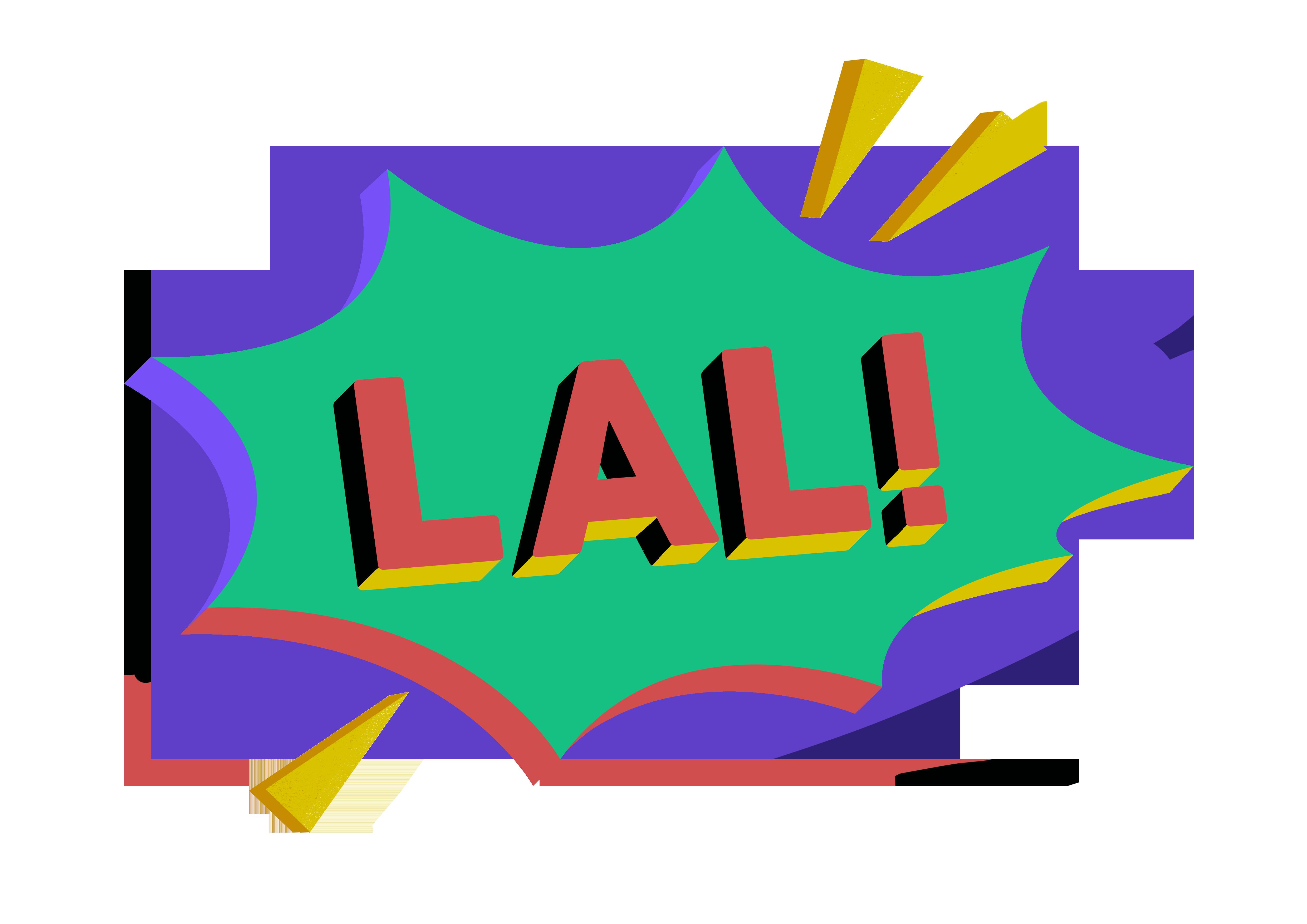 LAL! logo