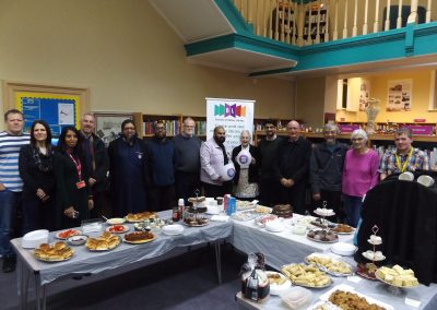 Inter-Cultural Tea Party at Batley Library.