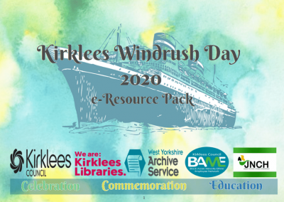 Windrush Day 2020 Resource Pack Cover.