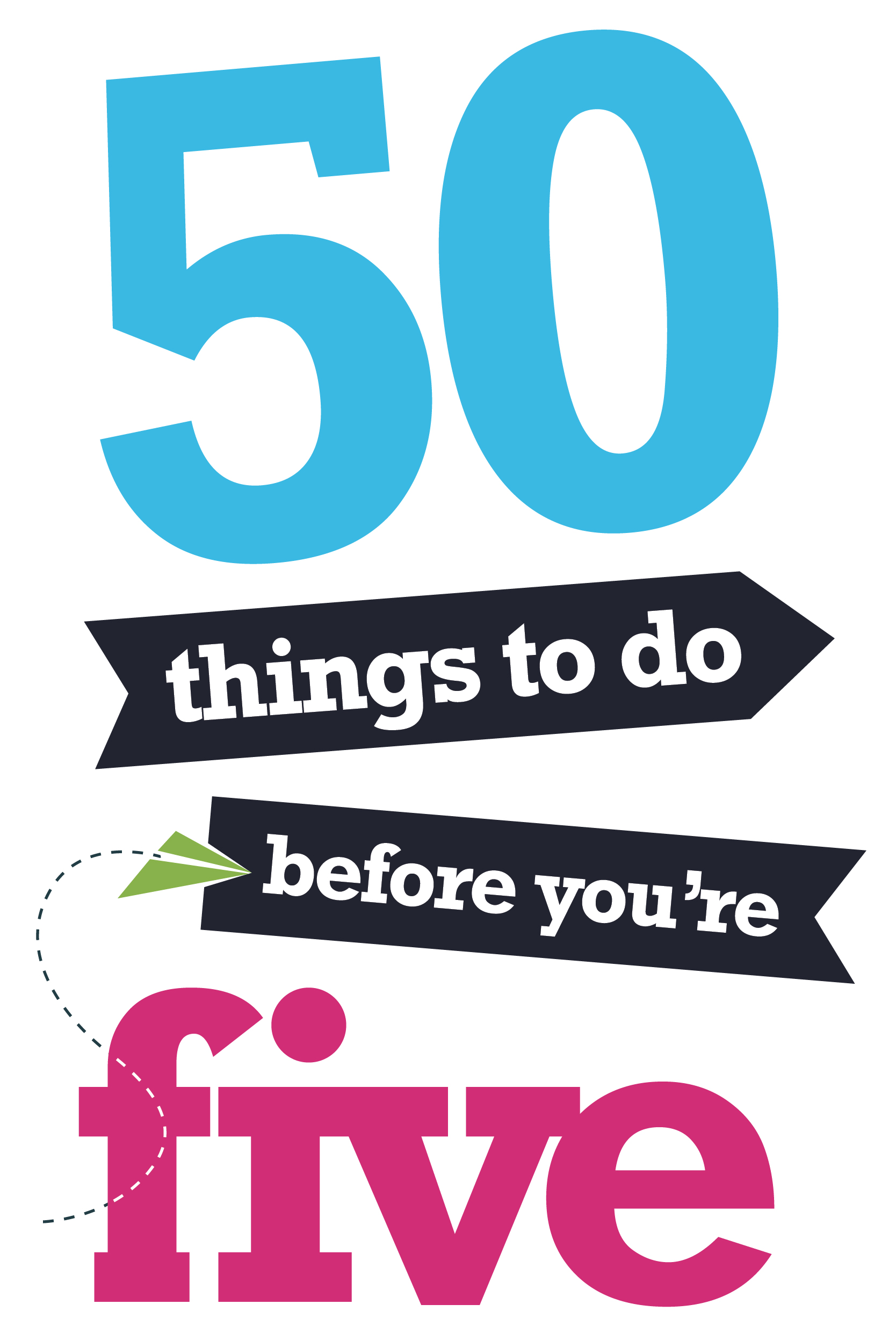 Logo for 50 things to do before you're 5