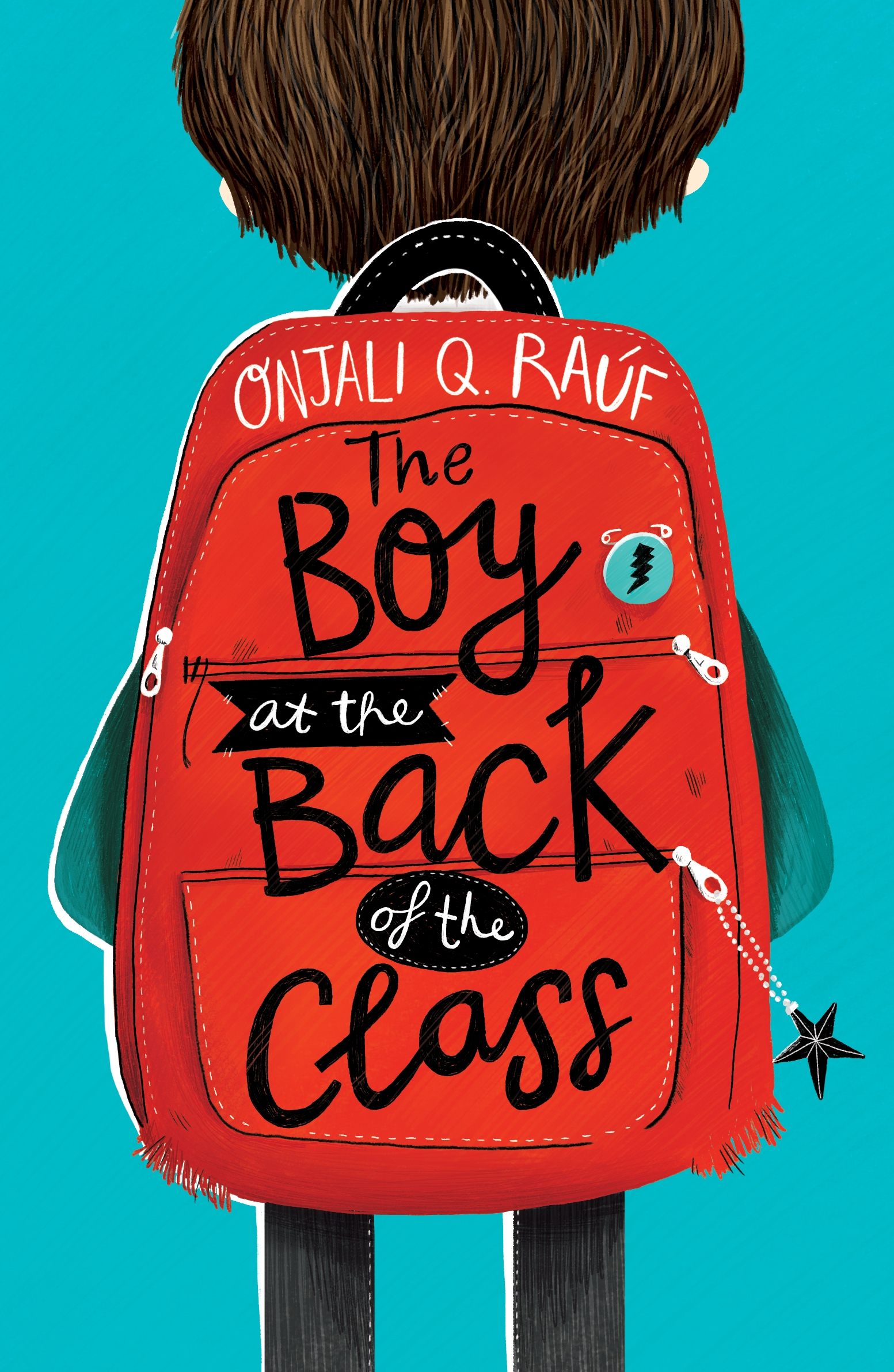 Book cover for The Boy at the Back of the Class