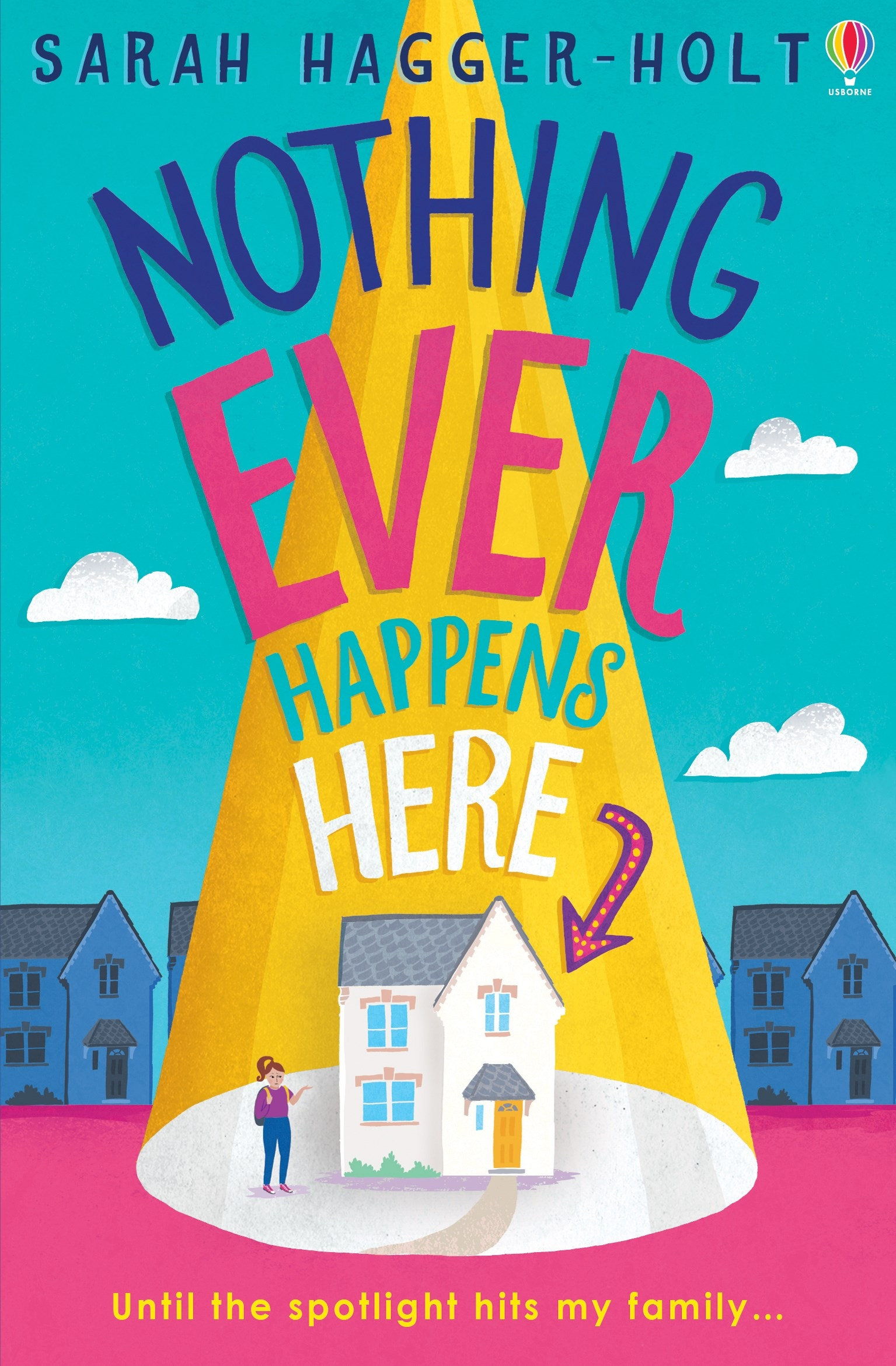 Image of Nothing Ever Happens Here book cover