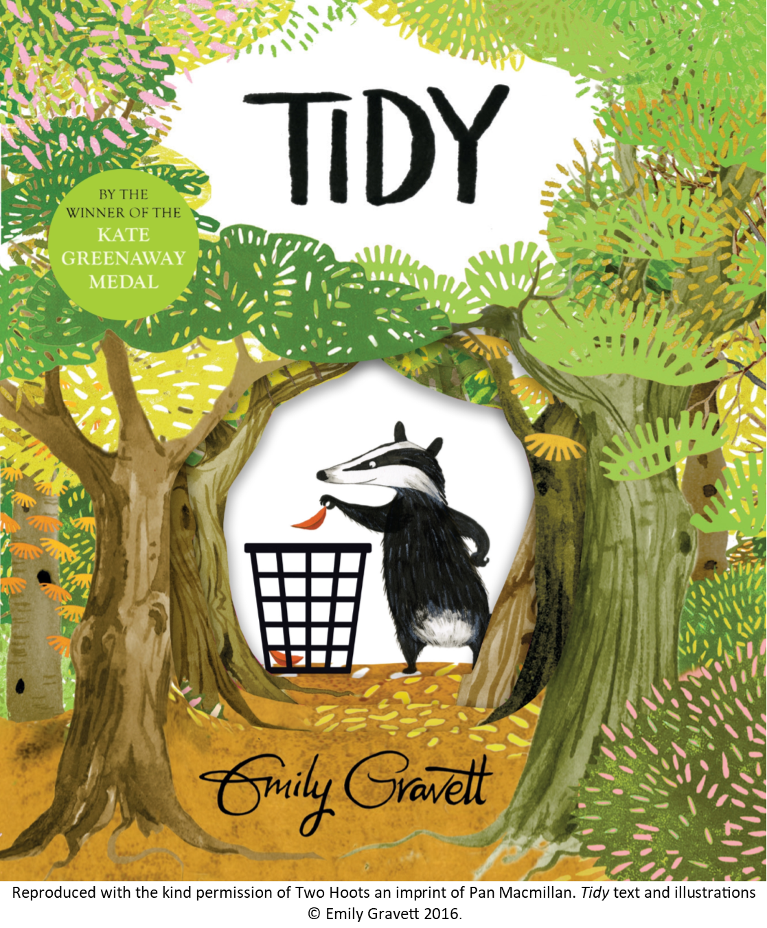 Image of the cover of Emily Gravett's book Tidy