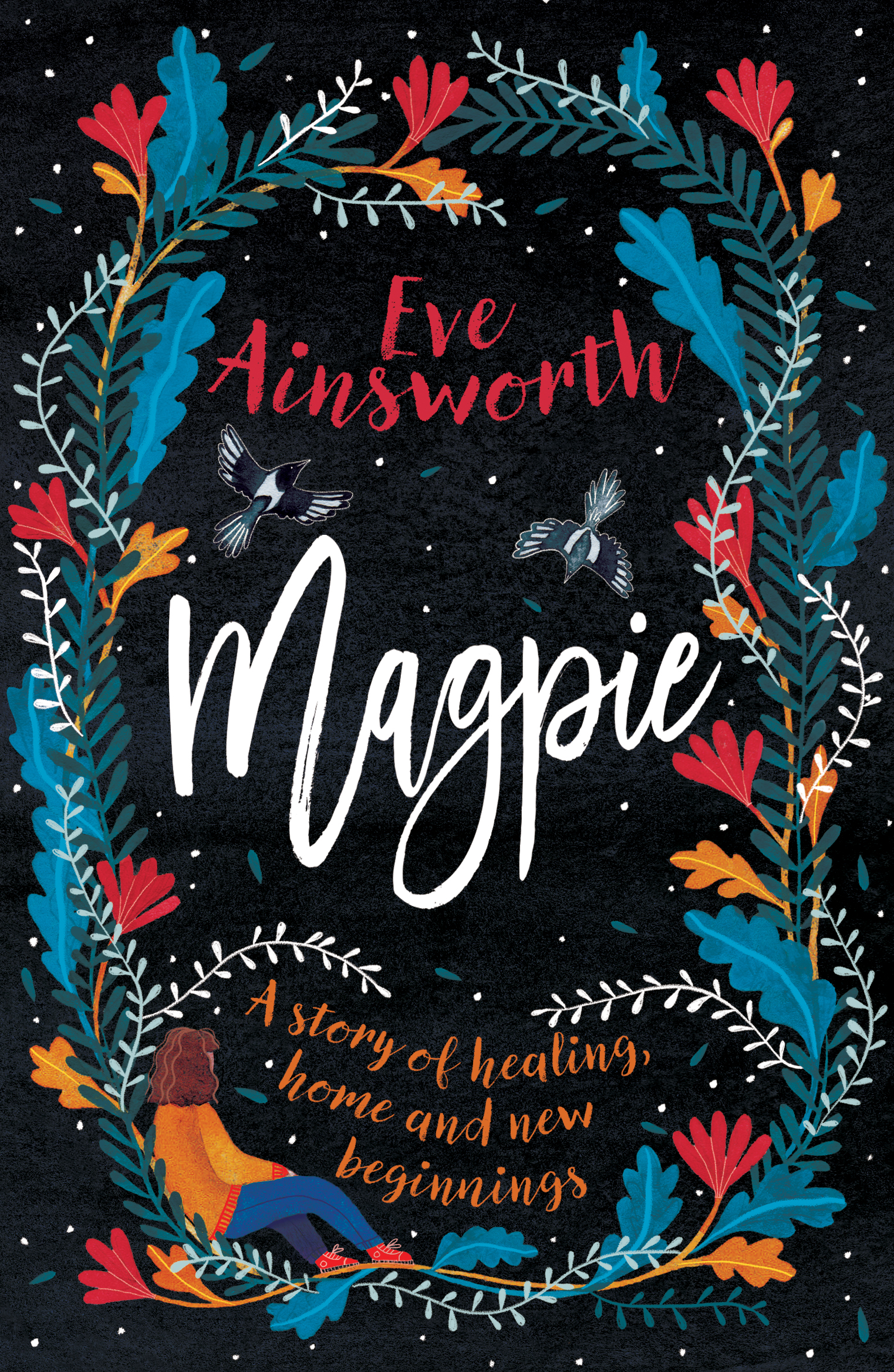 Photograph of the book cover of Magpie