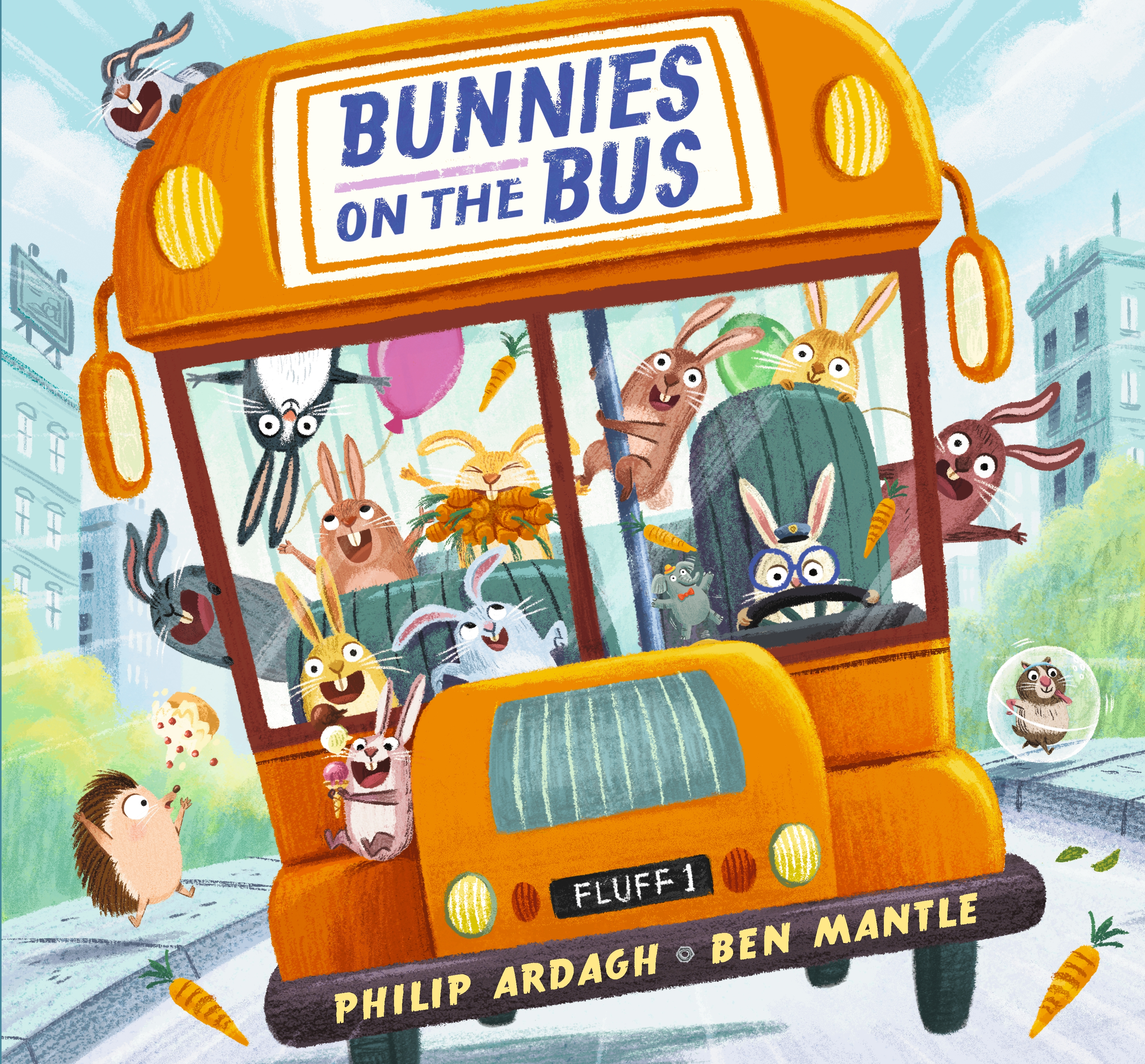Image of front cover of Bunnies on the Bus