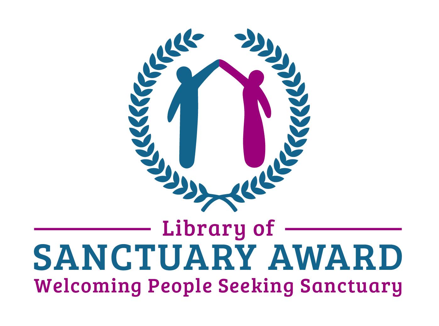 Library of Sanctuary Award Logo
